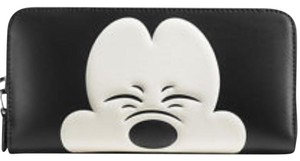 Coach Coach Disney X Mickey Mouse Zip Around Wallet