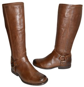 Frye Ridiing BROWN LEATHER Boots