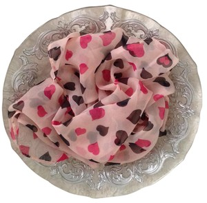 New womens scarf hearts womens scarf hearts