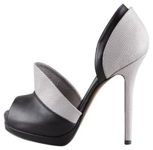 Fendi Black and Gray Platforms