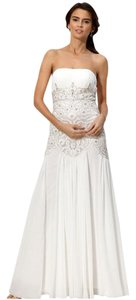 Sue Wong Gown Embellished Strapless Dress