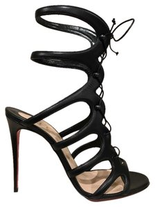 Christian Louboutin Stiletto Amazoulo Leather black Pumps