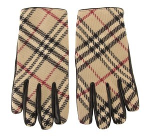 Burberry Wool and Leather Gloves