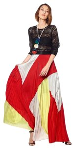 Gracia Maxi Skirt Red