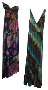 Black/Multi Maxi Dress by AB Studio