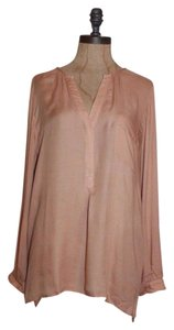 Joie Shirt Longsleeve Rayon Top BLUSH