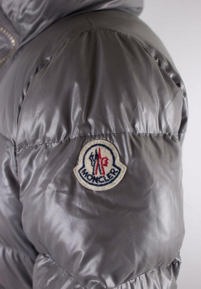 f780a5e7f Moncler Gray Joinville High Collar Puffer 1 Coat Size 2 (XS) 33% off retail