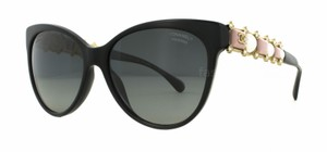 Chanel NEW Chanel Polarized Cat Pink Bijou Sunglasses 5335-H-B Pearl