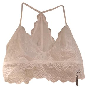 Aerie Lace Bra Bralette Top White