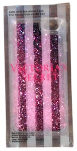 Victoria's Secret NWT Pink Glitter Snow Globe IPhone 6/6S