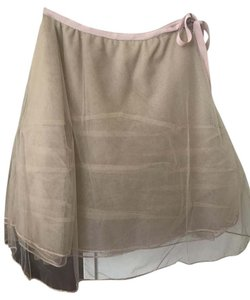 Max Studio Skirt Beige