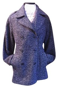 Lucky Brand Tweed Pea Coat