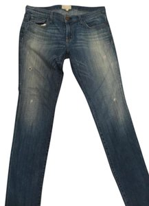 Current/Elliott Fling Slim Loved Boyfriend Cut Jeans-Distressed