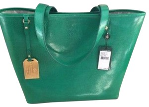 Ralph Lauren Tote in Kelly Green