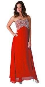 Other Crystal Beaded Formal Dress
