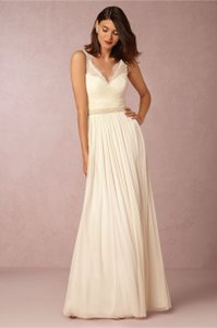 Designer clothing and accessories up to 90 off at tradesy anthropologie fleur wedding dress junglespirit Choice Image