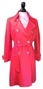 Kate Spade Bow In Back Trench Coat