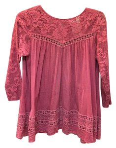 Free People Top Rose pink