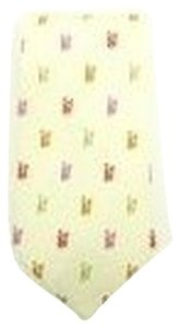 Versace Beige Colorful Tie TELM9