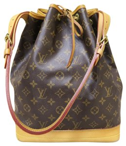 Louis Vuitton Lv Noe Gm Canvas Shoulder Bag