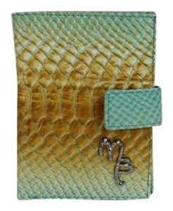Other Mauro Burani Multi-color Embossed Leather Wallet MBWLM1