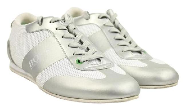 Item - White Low Hbjy1 Silver Sneakers Size US 9 Regular (M, B)
