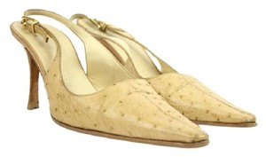 Vicini Yellow Pumps