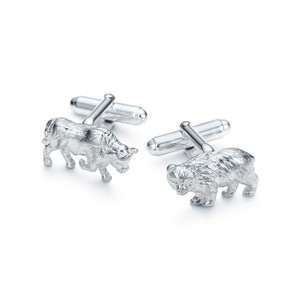 Tiffany & Co. Bull & Bear Cufflinks