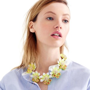 J.Crew Petal brûlée necklace