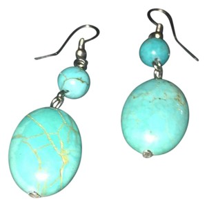 Other Real Turquoise & Silver Earrings