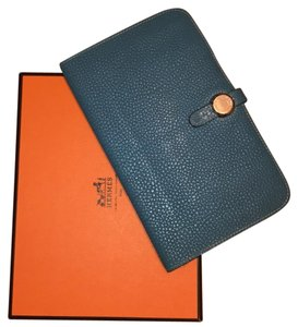 Herms Hermes Dogon wallet