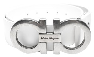 Salvatore Ferragamo Salvatore Ferragamo Oversized Gancini Leather Belt
