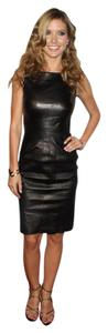 Kenneth Cole Lbd Leather Dress