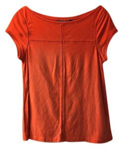 Anthropologie T Shirt orange