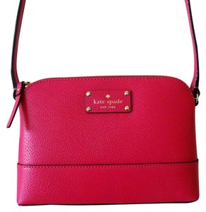 Kate Spade Pink Leather Small Cross Body Bag