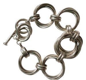 Silpada Sterling silver toggle bracelet