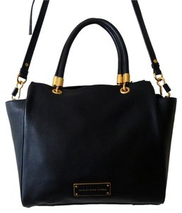 Marc by Marc Jacobs Leather Crossbody Tote in Black