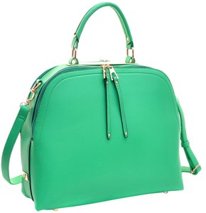 Other Classic Vintage The Treasured Hippie Large Handbags Satchel in Green