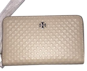 Tory Burch Marion Embossed Smartphone Wristlet