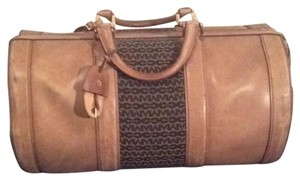 Doctor bag vintage tan/brown logo Travel Bag