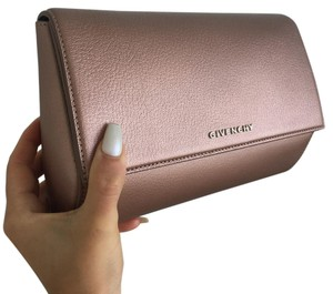 Givenchy Metallic Pink Clutch