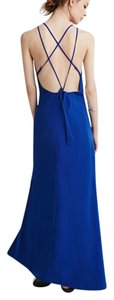 Forever 21 Formal Gown Cocktail Strappy Back Maxi Dress. Dress