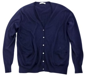 Céline Phoebe Philo Sweater Navy Cardigan
