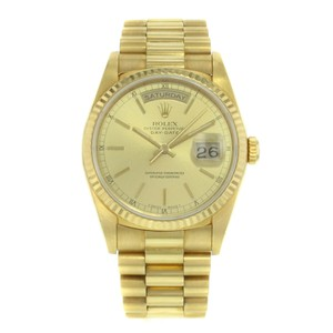 Rolex Rolex Day-Date 18238 18K Yellow Gold Automatic Men's Watch (15236)