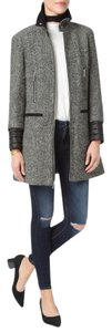 7 For All Mankind Tweed Wool Quilted Coat