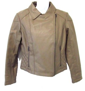 Express Faux Leather Motorcycle Jacket
