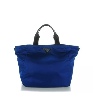 Prada Luxury Handbads Tote BLUE Messenger Bag