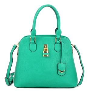 Other Classic The Treasured Hippie Large Handbags Vintage Satchel in Green