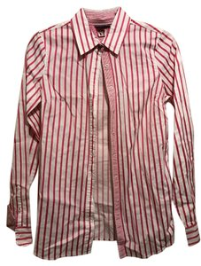 Tommy Hilfiger Button Down Shirt Pink