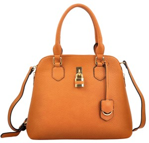 Other Classic The Treasured Hippie Large Handbags Vintage Satchel in Orange